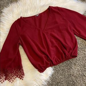 Cropped Charlotte Russe Top